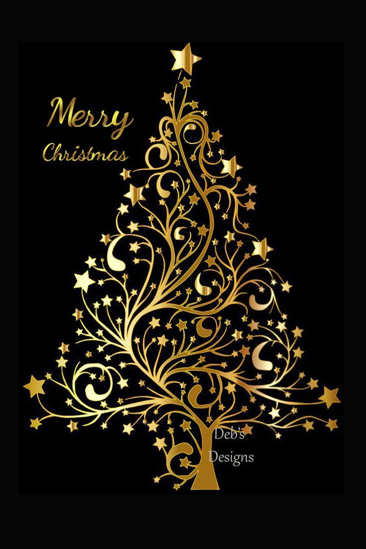 Digital Christmas Card Printable Digital Christmas Card Card Black And Gold Christmas Card Happy Holidays Card Instand Download Card 10160 Card Making Digital Christmas Cards Happy Holiday Cards Card Making Designs