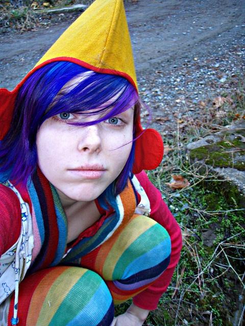 Larkin love purple hair