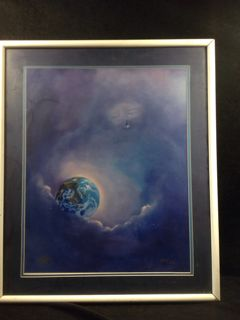 Interesting Signed And Numbered Art By Al King Titled