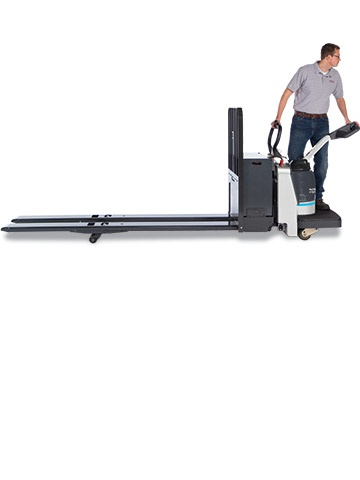 RPX WALKIE/RIDER PALLET TRUCK  Applications: Manufacturing, Warehousing; Flexible design allows use in various operating environments
