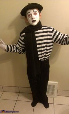 Mime - Halloween Costume Contest via @costumeworks