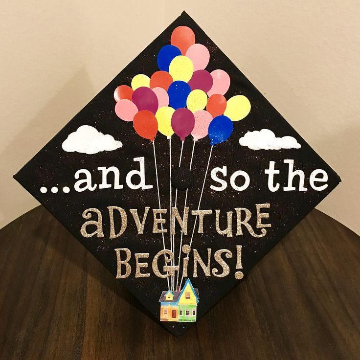 and so the adventure begins!  #graduation #MSW #USC #cap #UP #adventure