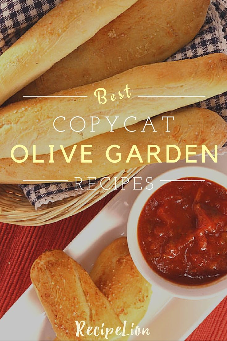 13 Favorite Olive Garden Copycat Recipes Olive Gardens Copycat Recipes And Copy Cats