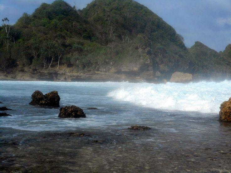 Goa Cina Beach #Malang #EastJava #Indonesia