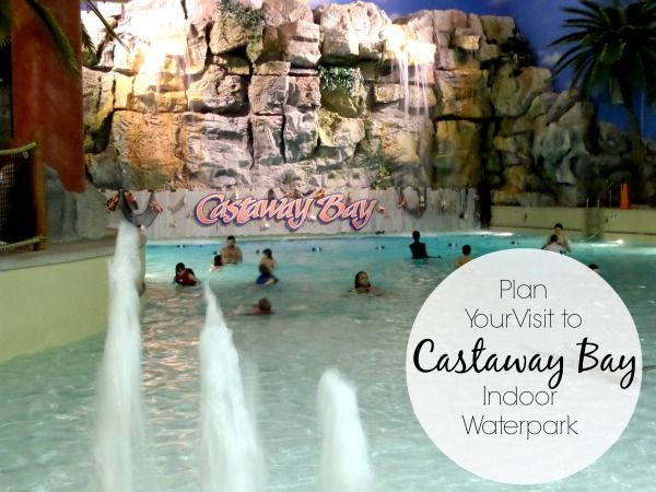 Castaway Bay Indoor Waterpark in Sandusky Ohio offers fun for the entire family and more than one fun surprises.
