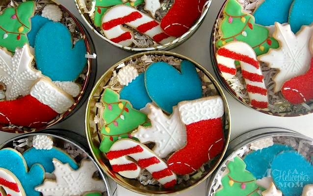 Make Christmas cookies for family and neighbors!