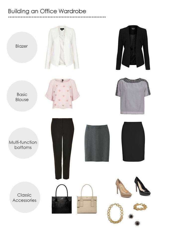 build an office wardrobe around these key pieces - www.lovelucygirl.com