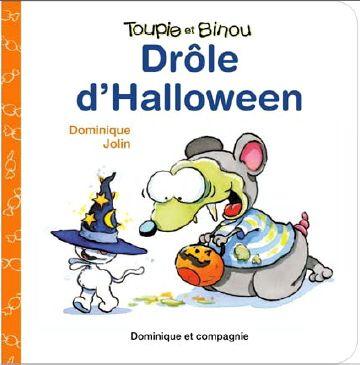 DOMINIQUE JOLIN - Drôle d'Halloween - Renaud-Bray.com