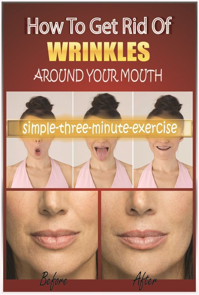 Easy Way To Eliminate Wrinkles Around Your Mouth