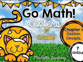 Go Math-First Grade Math Centers, Addition Concepts ...