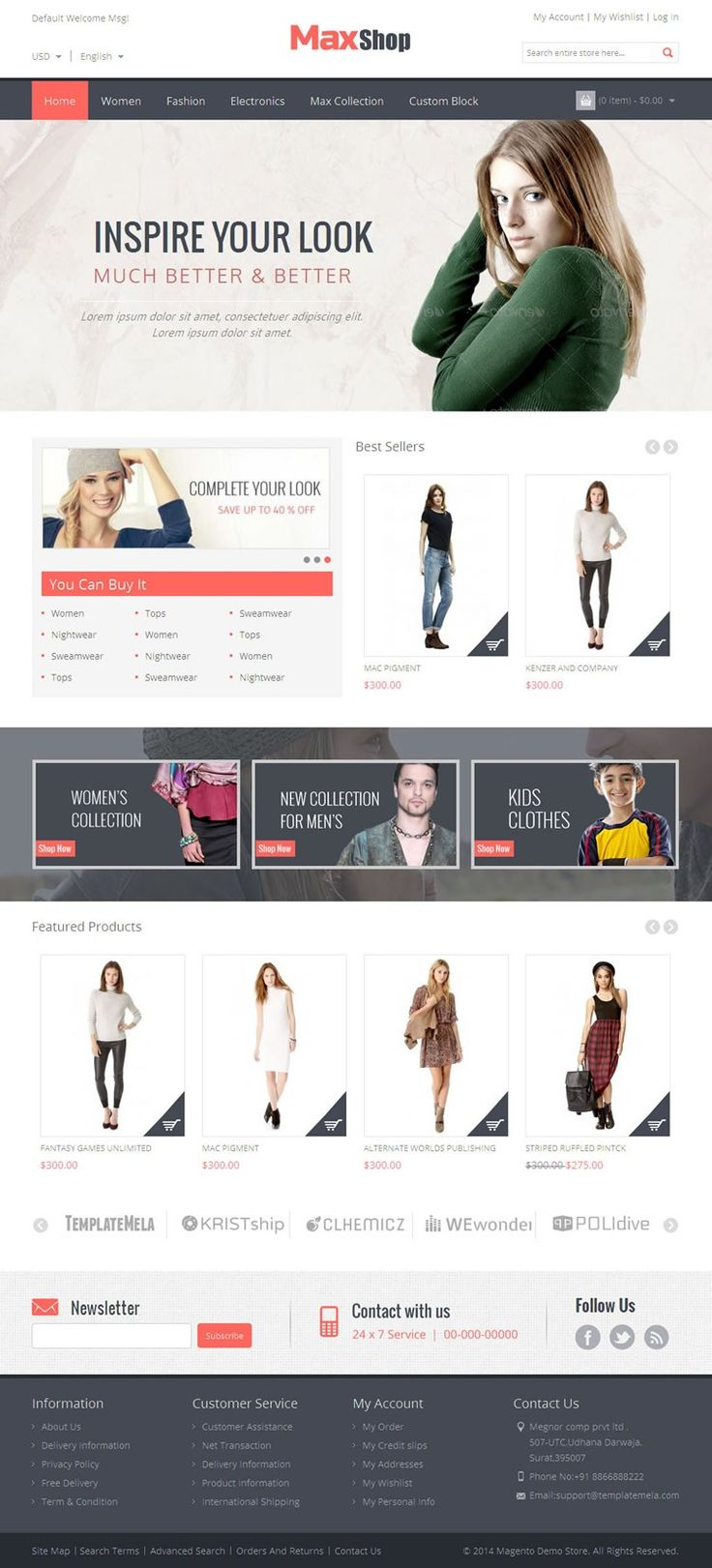127 best images about Premium magento templates on Pinterest | It ...