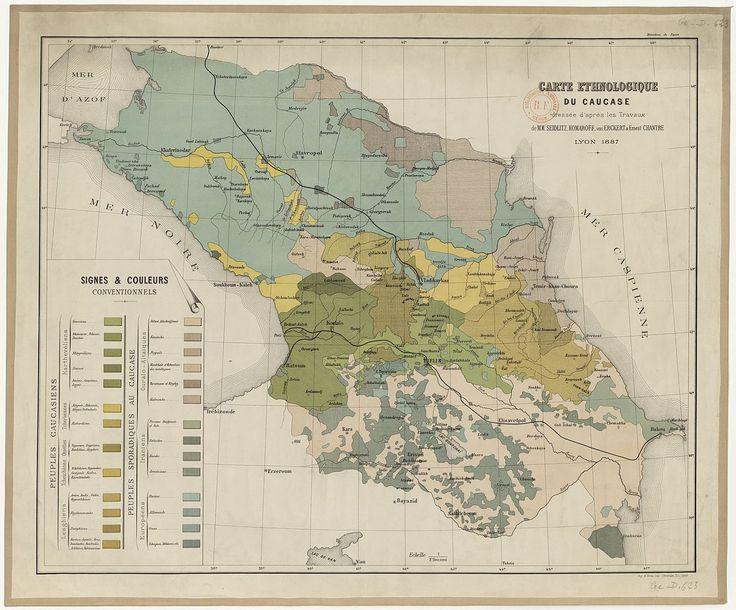 Best Caucasus Images On Pinterest Georgian Historical - Caucasus map