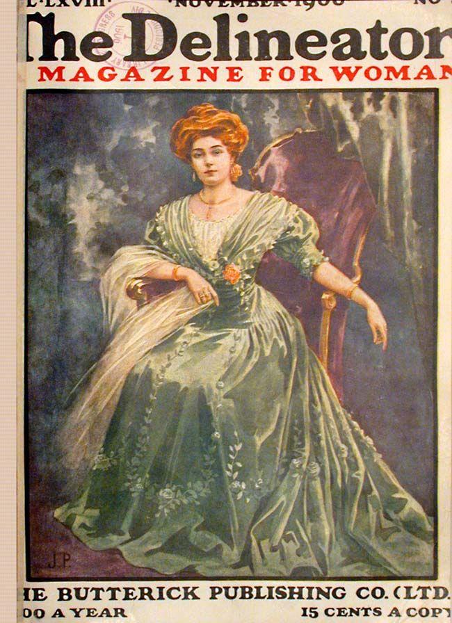 Free Vintage Image La Nouvelle Mode Cover   Old Design ...  Victorian Magazine Covers