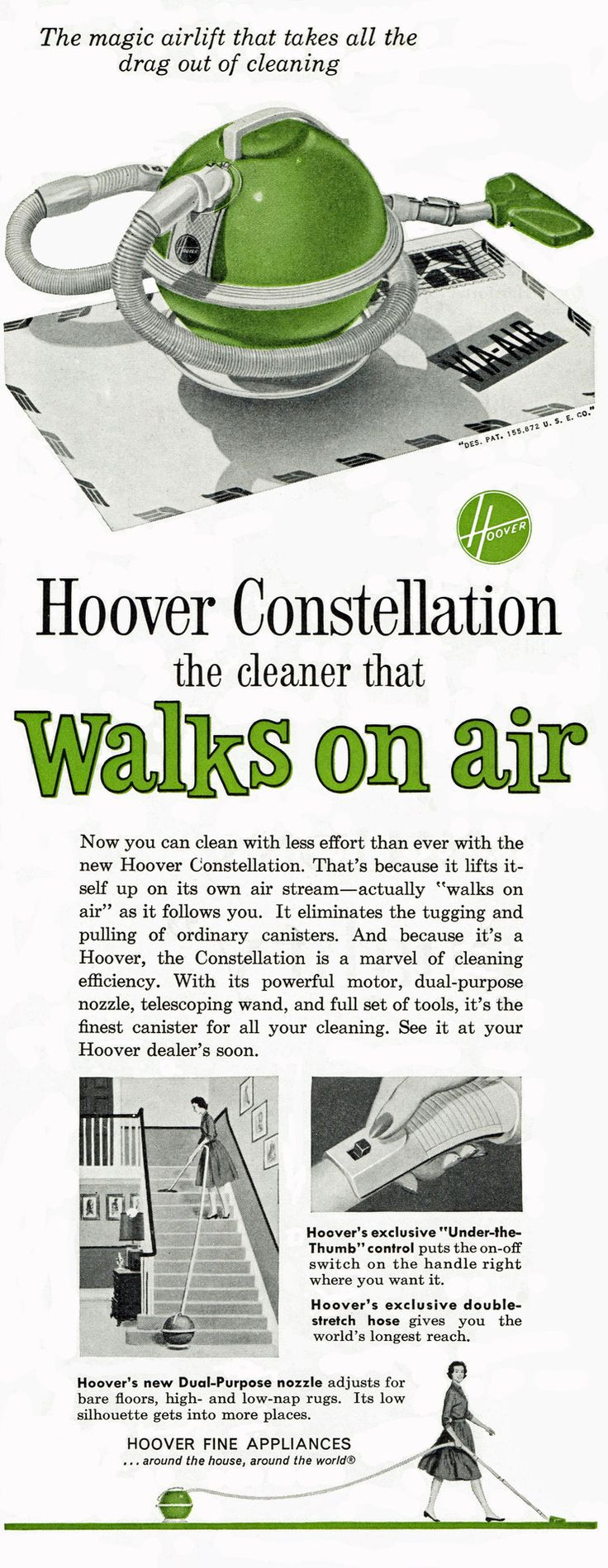 Hoover Constellation, 1960