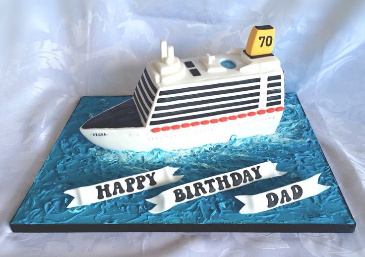 28 Best Images About Cruise Ship Cake On Pinterest