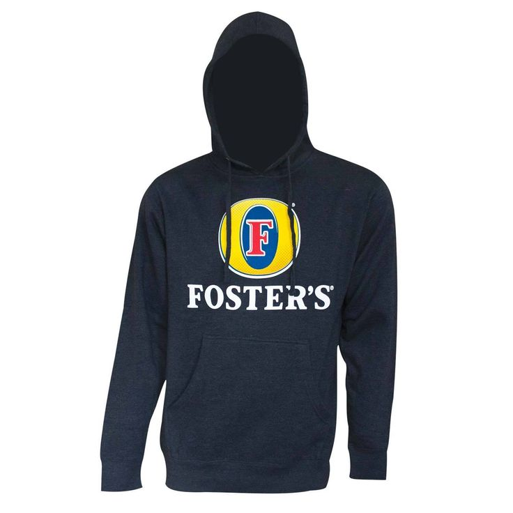 City Foster's Beer Logo Hoodie