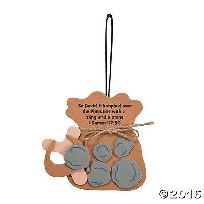 David & Goliath Ornament Craft Kit