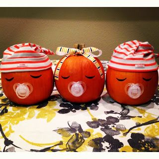 this would be sooo cute for someone having a fall baby shower with one baby or
