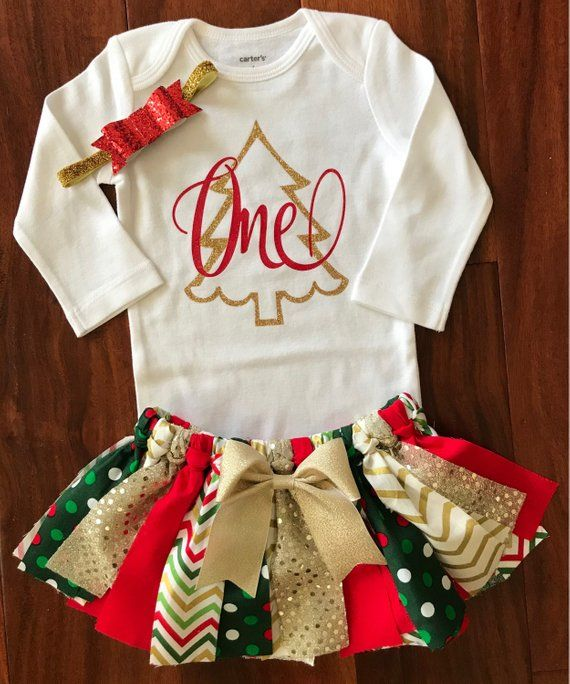 Girls Christmas Outfit Christmas Gift Newborn Christmas Birthday Baby/'s First Christmas Miss December Toddler Girls First Christmas