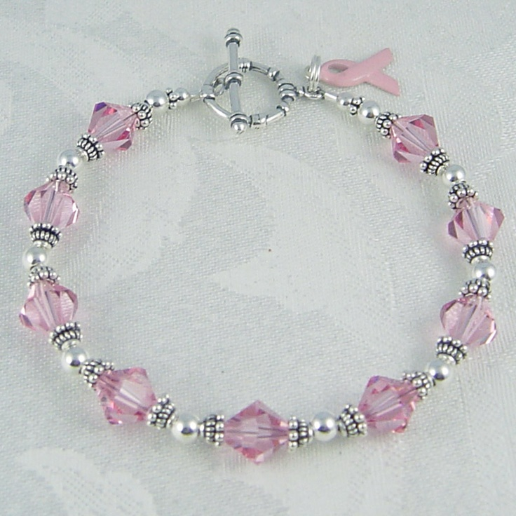 Swarovski Breast Cancer Bracelet *MOM*