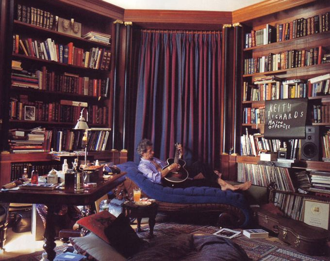 Keith Richards Library