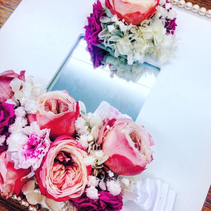 #bridalpresent #bridal #present #rose #鏡