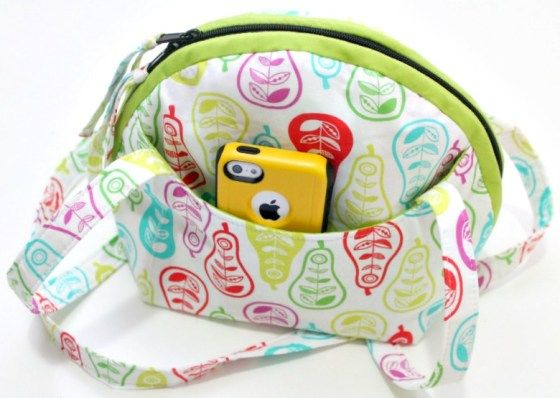 Clam Shell Shoulder Bag Digital Sewing Pattern from Sticky Sugar Stitches
