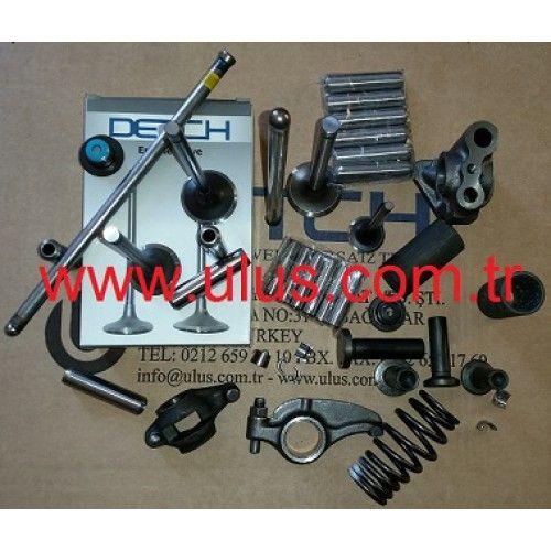 6136-12-1320 Motor supap bagasi KOMATSU DETCH Motor yedek parçaları