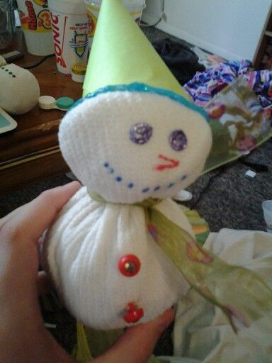 another homemade snowman
