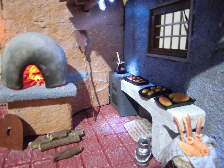Panadería - Detalle horno y mesón