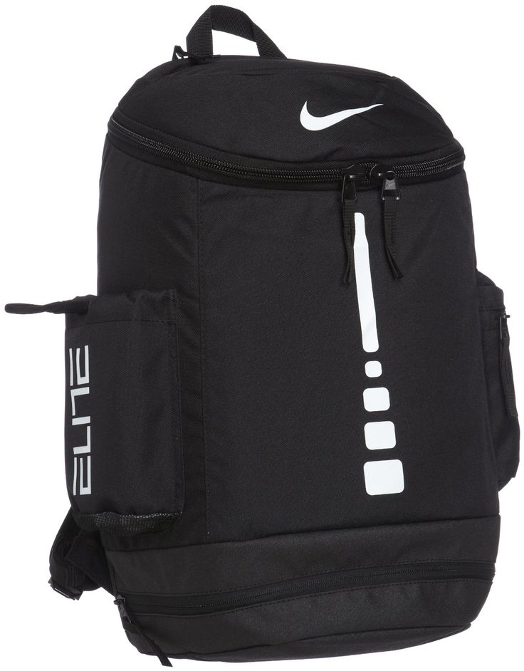 black and white nike backpack