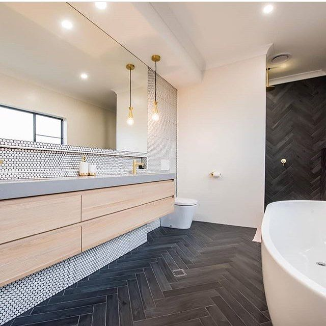Tempusdesignstudio Interiordesign Architecture Bathroom Australia Taps Comment Below If You Li White Bathroom Designs House Flooring Bathtub Tile Top idea wooden floor bathroom