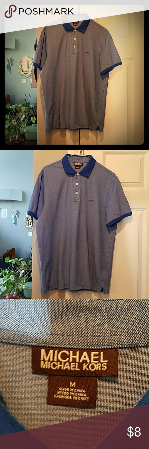 MICHAEL MICHAEL KORS MEN'S GOLF SHIRT NOWT ❣ MICHAEL MICHAEL KORS MEDIUM MEN'S GOLF SHIRT NOWT ❣BOUGHT FOR MY SON, BUT DIDN'T FIT HIM. BRAND NEW NEVER WORN PERFECT CONDITION OF COURSE ❣NICE LOOKING MAN'S SHIRT.....#HEWILLLOOKFAB ❗❗❗❗ MICHAEL MICHAEL KORS Shirts