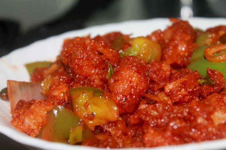 Chilli gobi Recipe by Sujitha Nair