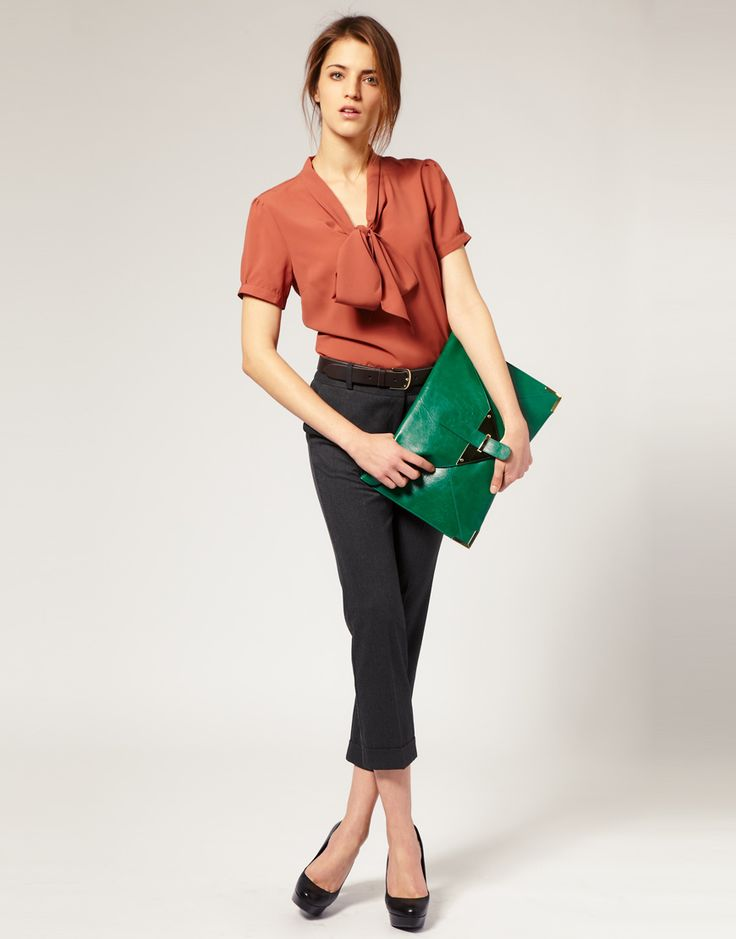 ginormo envelope clutch in green. $34.48