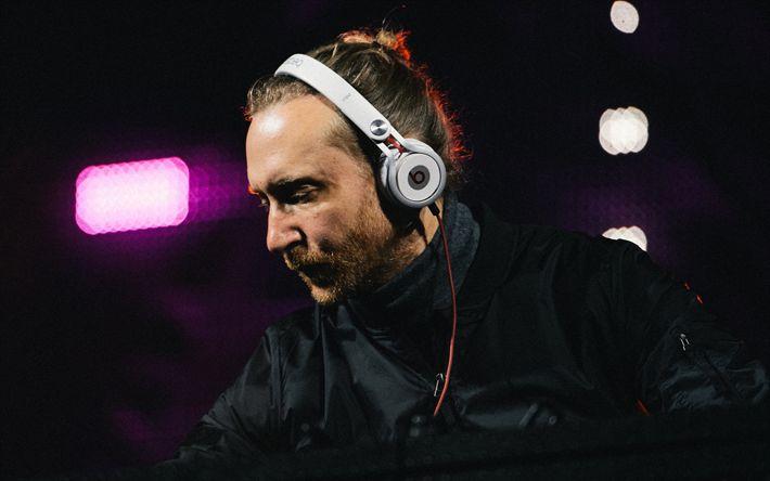 Descargar fondos de pantalla David Guetta, DJ, conciertos, superestrellas, dj console