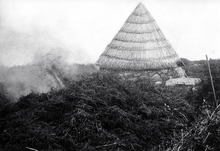 "1995. ""Iron Age"", my work goes on Ted Motle. Cornwall."