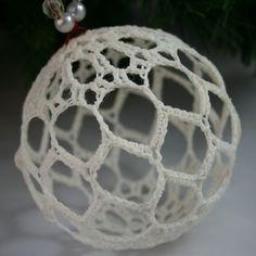 Crochet Ball Ornament pattern