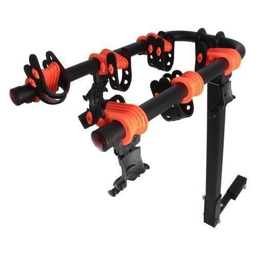 Rear Bike Rack, Lightweight Folding Mounted Heavy Duty Hitch Bike Rack Carrier