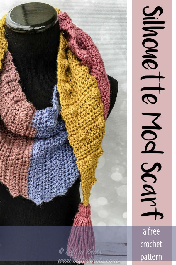97eabe8eea65a This simple mod scarf is a modern triangle shaped scarf that is outlined in  bobbles and adorned with tassels. Made with Caron Cakes yarn (or your  favorite ...