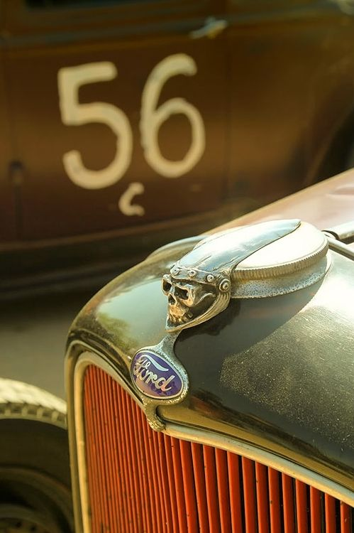 *skull hood ornament..Re-pin...Brought to you by #CarInsurance at #HouseofInsurance in Eugene, Oregon