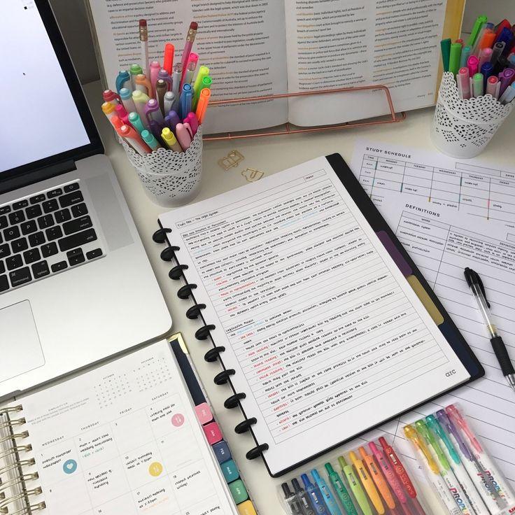 006 desk studying studyblr emmastudies stationery study