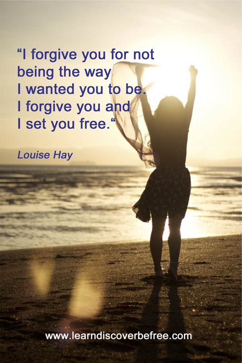Forgiveness is such an essential tool to learn