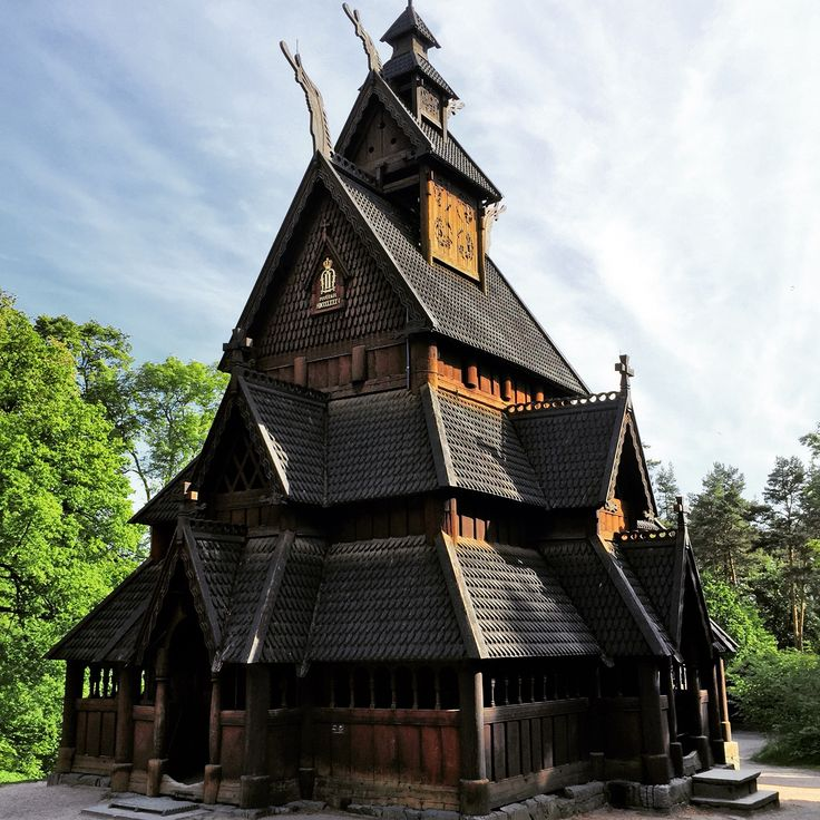 Stave Church in Oslo.