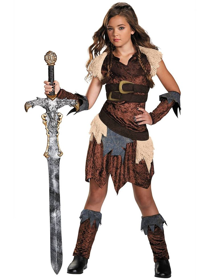 Girl's Barbarian Beauty Costume! See more #costume ideas ...