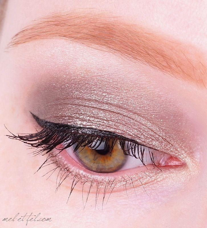 Make-up mit der The Rock Chick Lidschattenpalette - mehr dazu auf mel-et-fel.com