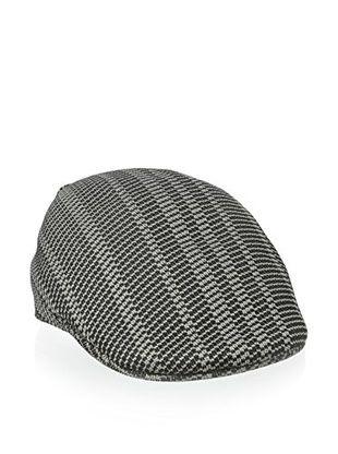 50% OFF Kangol Men's Jacquard 507 Cap (Twill Stripe Black)