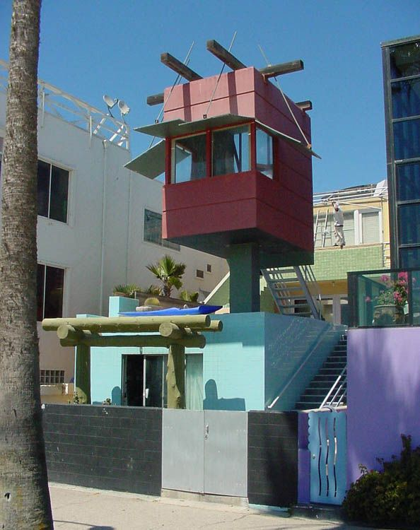Postmodern Architecture Gehry venice beach house - frank ghery, 1986 | postmodern | pinterest