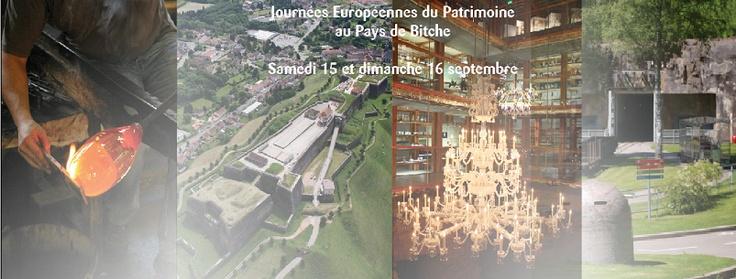 Ce week-end profitez des journées européennes du Patrimoine pour découvrir autrement le Pays de Bitche !  Au programme :    Découvertes flamboyantes et visites insolites ! Demandez-nous vite le programme @OTPaysdeBitche ou RDV sur notre page Facebook : http://www.facebook.com/pages/Le-Pays-de-Bitche-Office-de-Tourisme/219605128086384