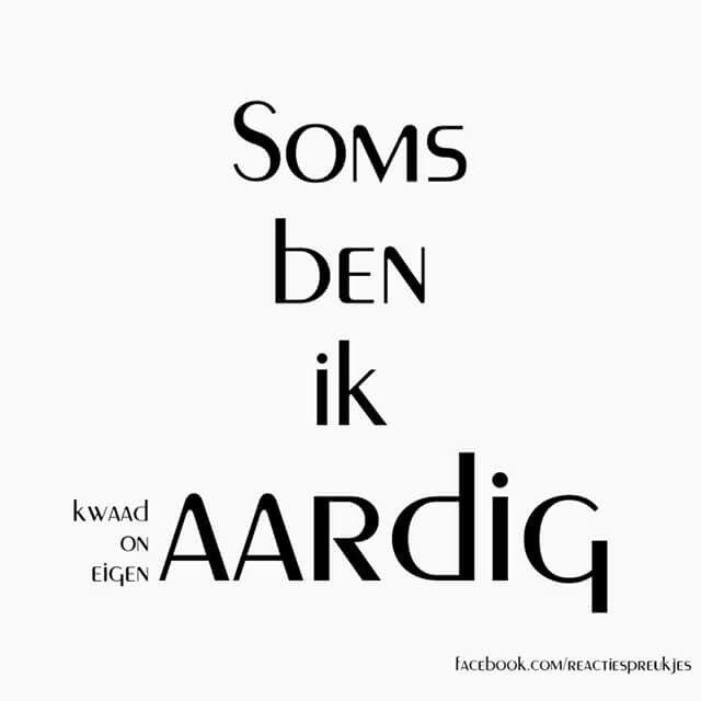 Aardig?! #humor #nederlands #tekst #grappig